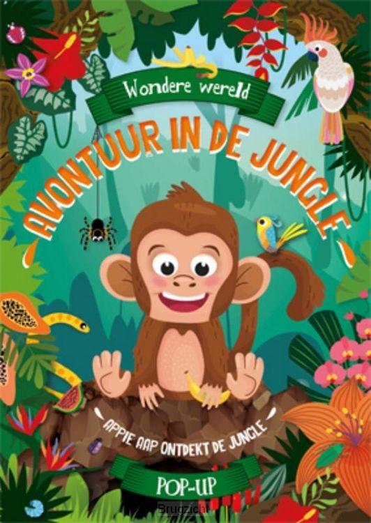Wondere wereld pop-up - Avontuur in de jungle