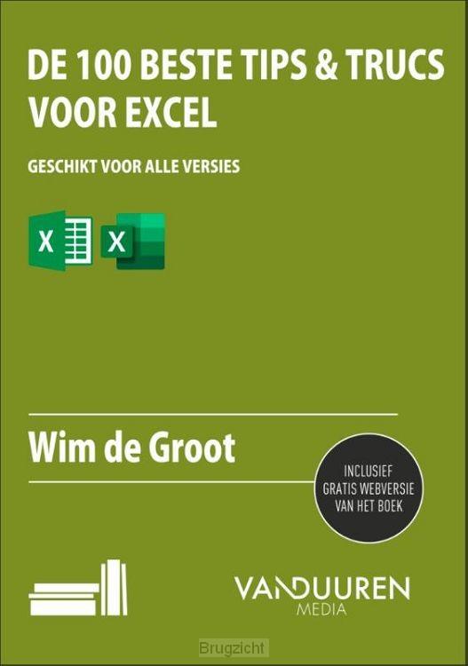 De 100 beste tips & trucs voor Excel