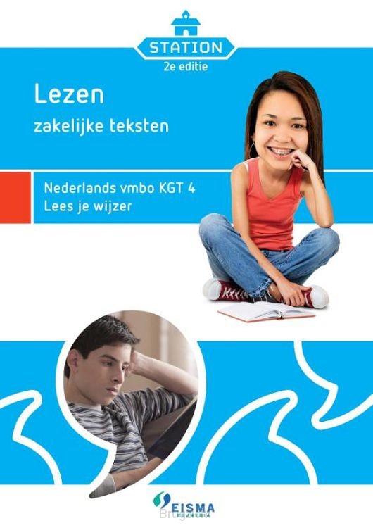 Lezen zakelijke teksten / Nederlands vmbo KGT 4 Lees je wijzer