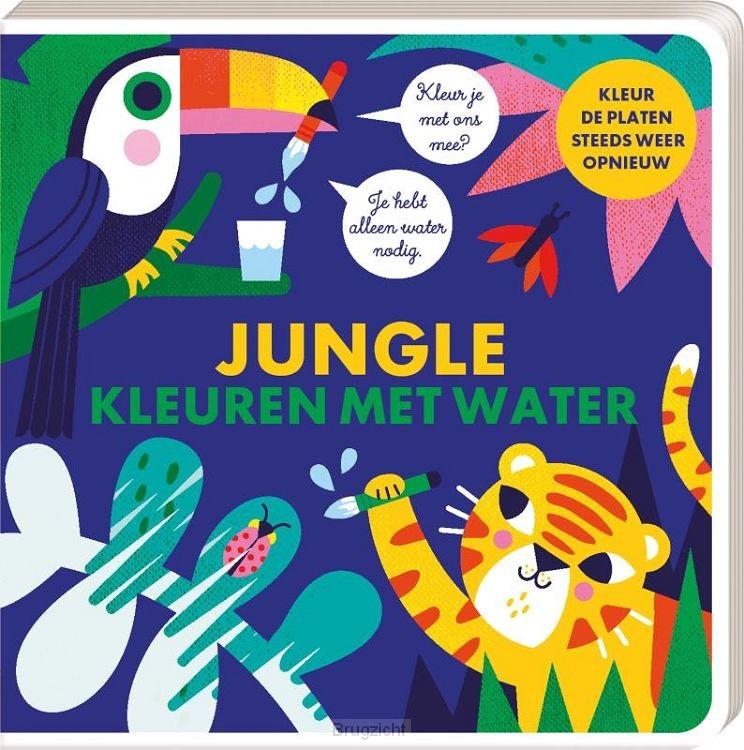 Kleuren met water - Jungle
