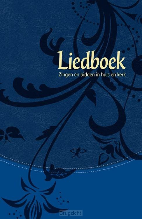 Nieuw Liedboek blauw softcover goudsnee