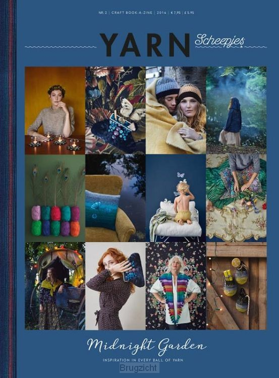 Scheepjes YARN Bookazine 2 The Midnight Garden - Nederlands