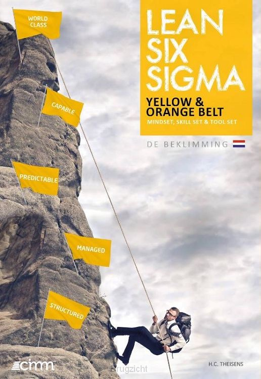 Lean six sigma yellow and orange belt
