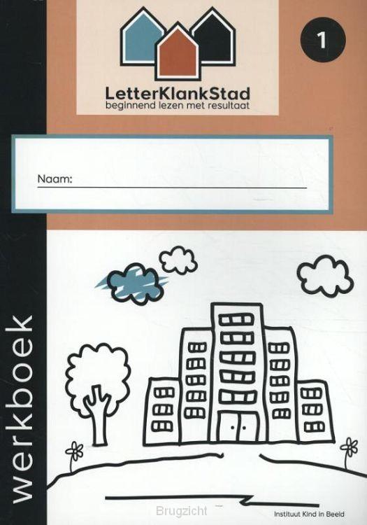 1 beginnend lezen met resultaat / LetterKlankStad / Werkboek
