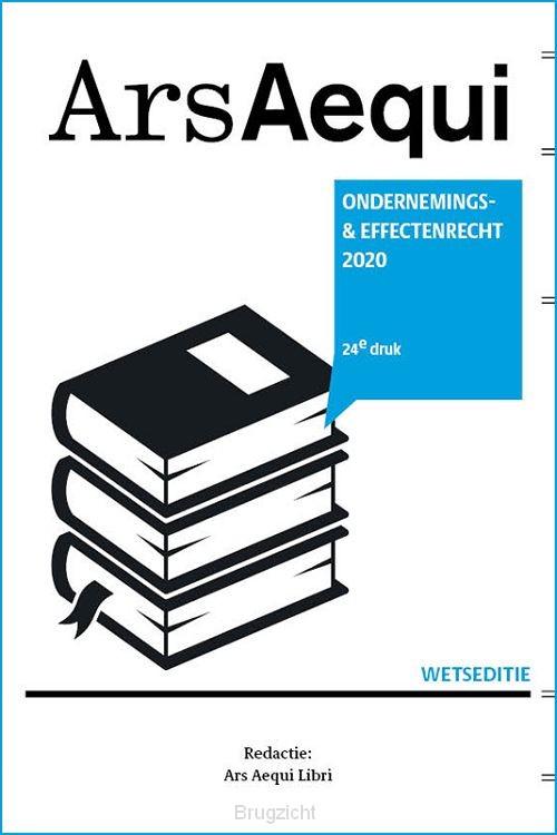 Ondernemings- & effectenrecht 2020