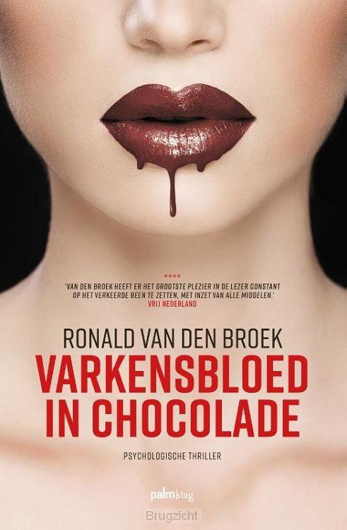 Varkensbloed in chocolade