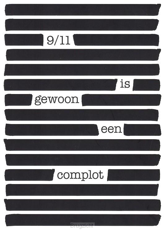 9/11 is gewoon een complot