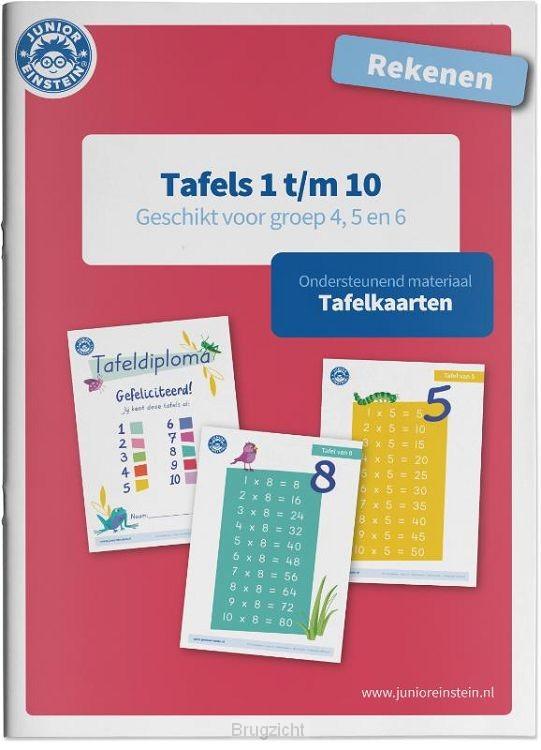 Tafels 1 t/m 10 / Rekenen / Tafelkaarten
