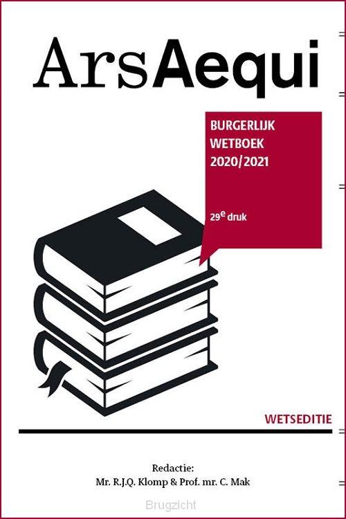 Burgerlijk wetboek 2020/2021