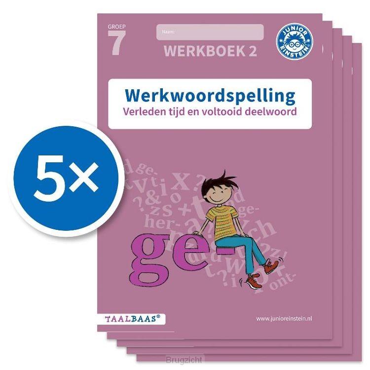 Werkwoordspelling werkboek 2 groep 7 (Set van 5)