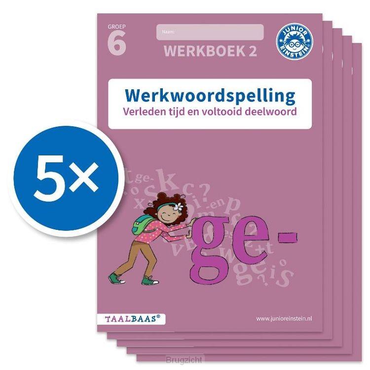 Werkwoordspelling werkboek 2 groep 6 (Set van 5)