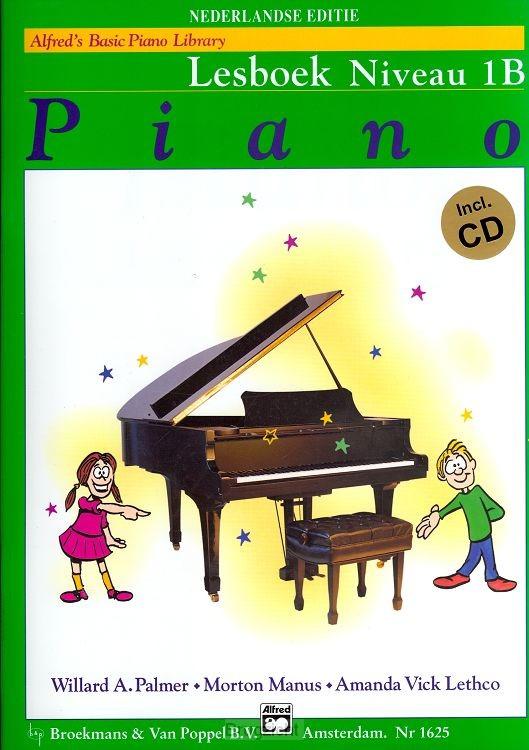 Alfred's basic Piano lib. lesb. niv.1B