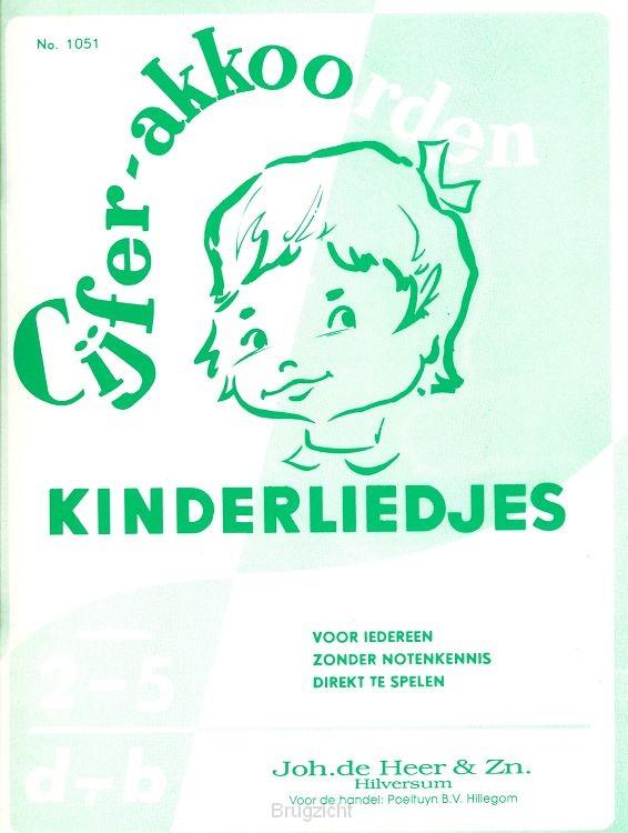 Cijferakkoorden Kinderliedjes