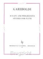 30 easy and progressive studies for flut