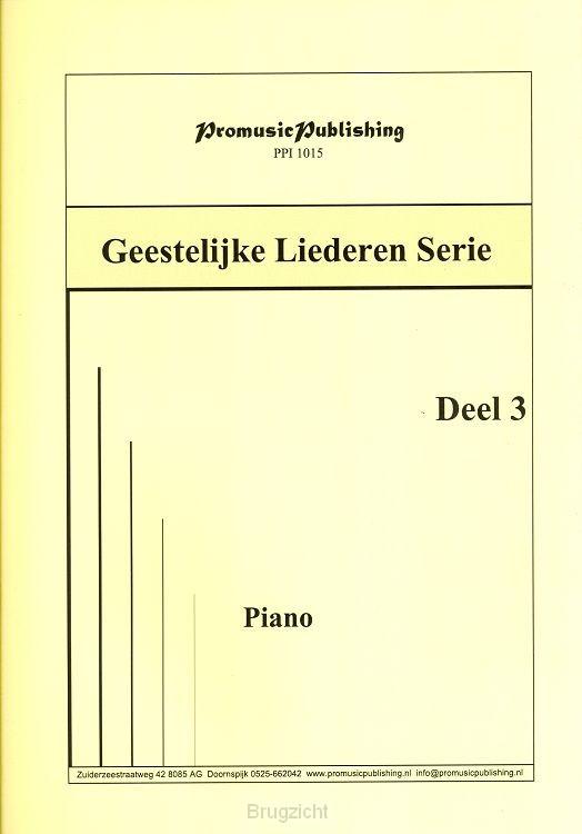 Geestelijke liederen dl.3 piano