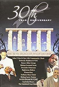 30th year anniversary tyscott recor