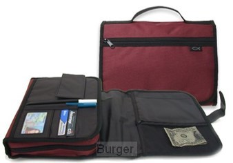 Biblecover x-large trifold cranberry