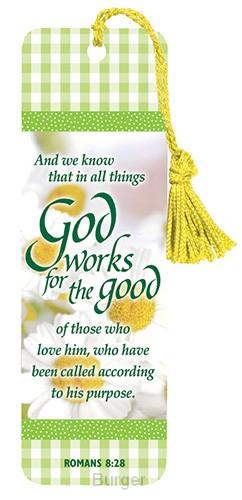 Bookmark God works set3