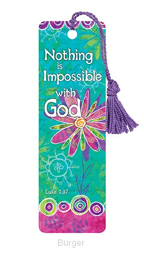 Bookmark nothing is impossible set3
