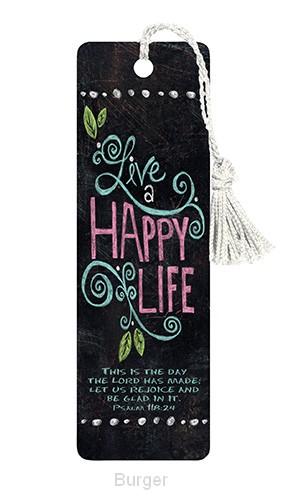 Bookmark happy life set3