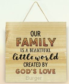 Our family created by Gods love