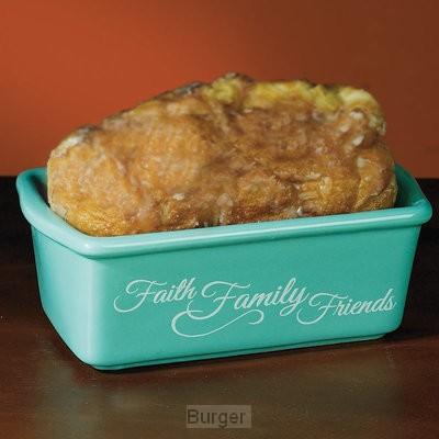 Mini loaf pan faith family friends