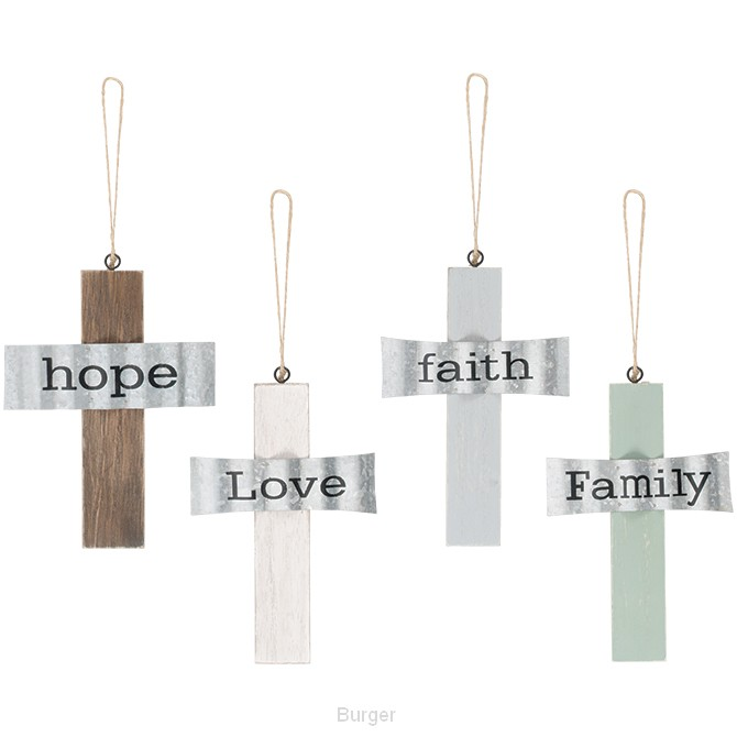 Hanging crosses set4