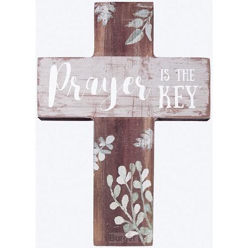 Mini wall cross prayer is the key