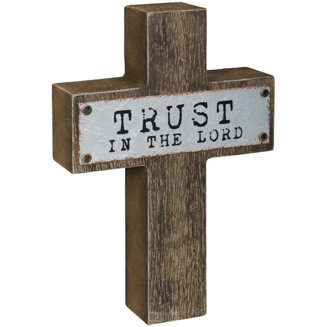 Mini cross trust in the Lord