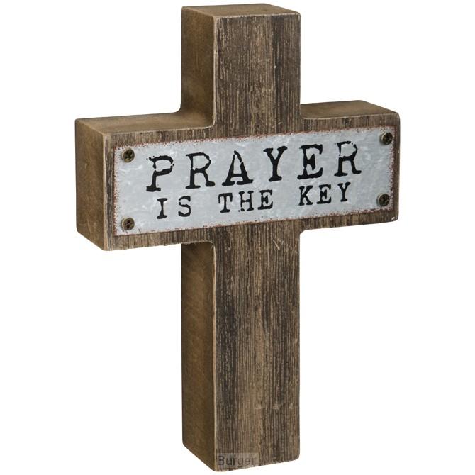 Mini cross prayer