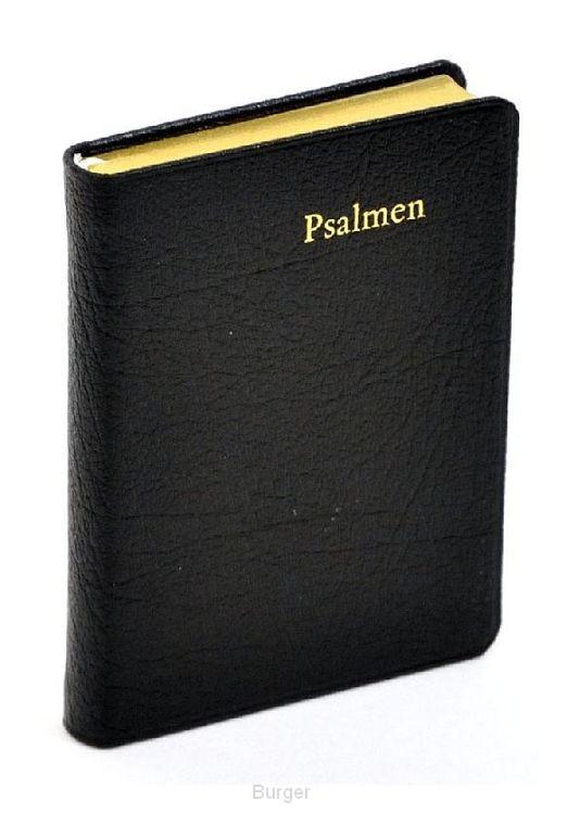 Psalmboek P22 leer goudsnee