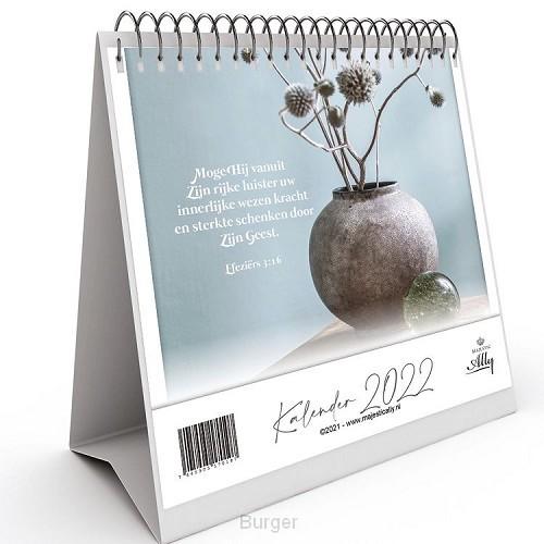 Bureaukalender Puur met bijbeltekst