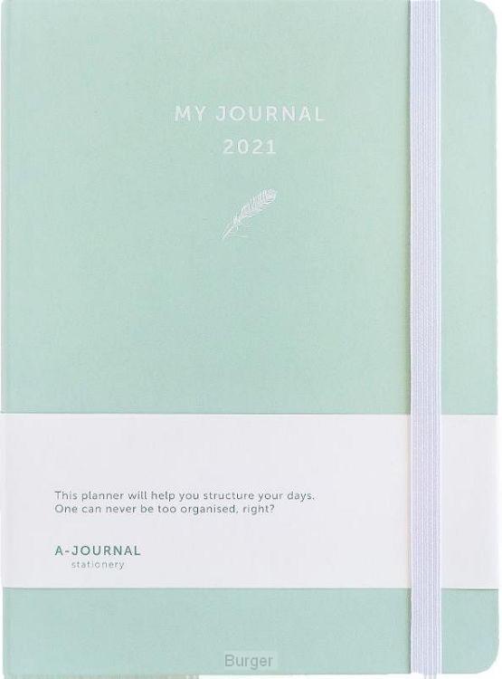 My Journal Agenda 2021 - Mintgroen
