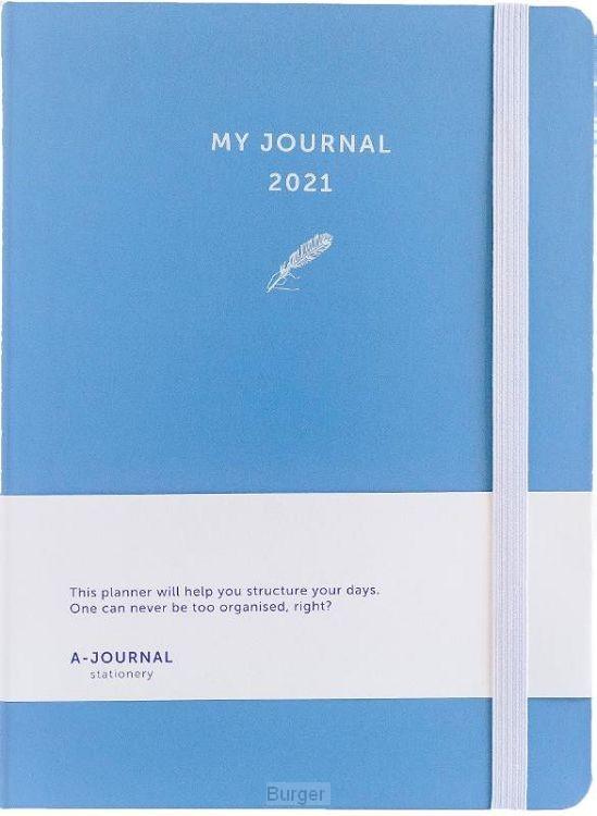 My Journal Agenda 2021 - Lavendel