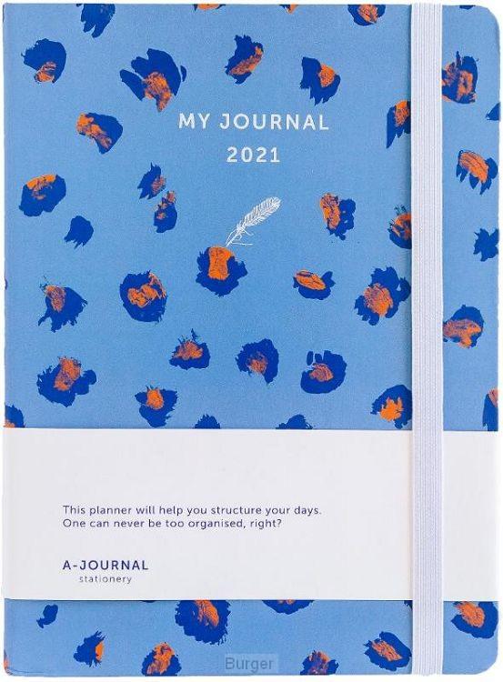 My Journal Agenda 2021 - Lavendel Luipaard