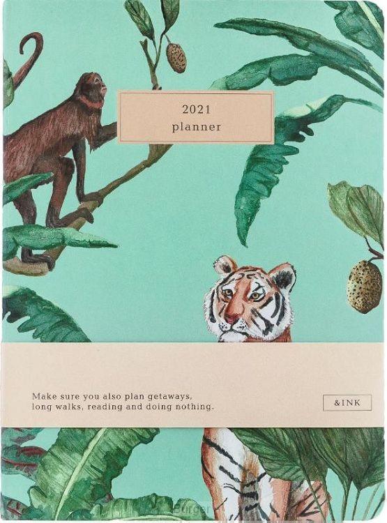 &INK Agenda 2021 - Botanisch - Groen