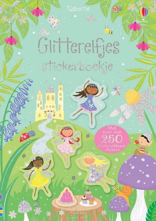 Stickerboekje Glitterelfjes