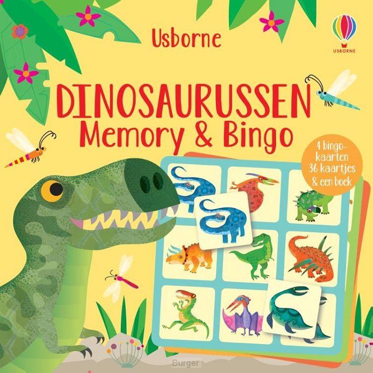 Dinosaurussen Memory & Bingo