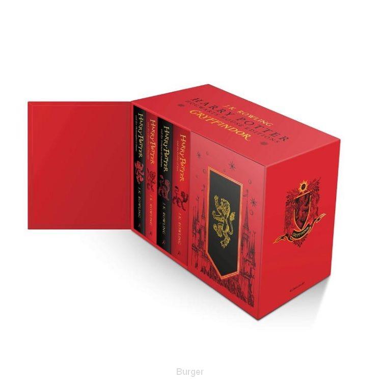 Harry Potter Gryffindor House Editions Hardback Box Set