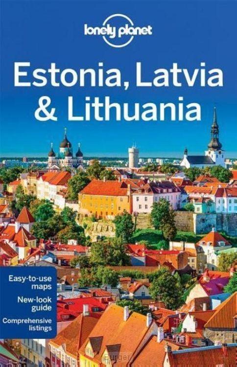 Lonely Planet Estonia, Latvia & Lithuania dr 7