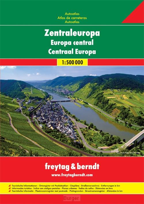 Centraal Europa Wegenatlas F&B