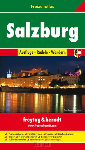 Salzburg Freizeitatlas F&B