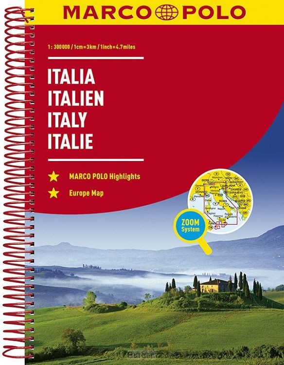 Italië Wegenatlas Marco Polo