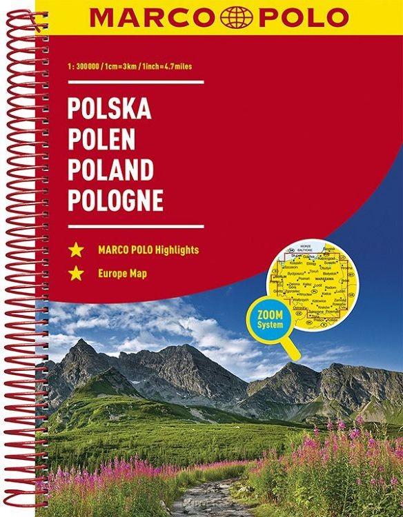 Polen Wegenatlas Marco Polo