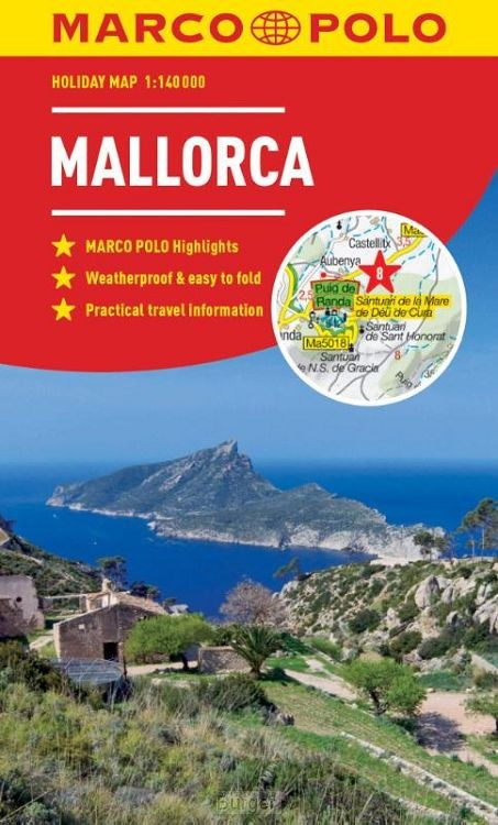 Mallorca Marco Polo Holiday Map 2019 - pocket size, easy fol