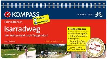 FF6434 Isarradweg, Mittenwold nach DeggendoFF Kompass