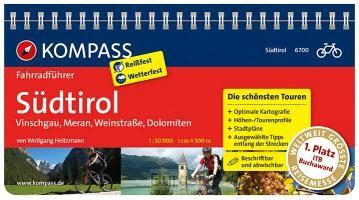 FF6700 Südtirol,Vinschgau, Meran, Weinstraße, Dolomiten Kompass