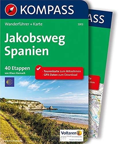 WF5913 Jakobsweg Spanien Kompass