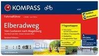 FF6297 Elberadweg von Cuxhaven nach Magdenburg Kompass