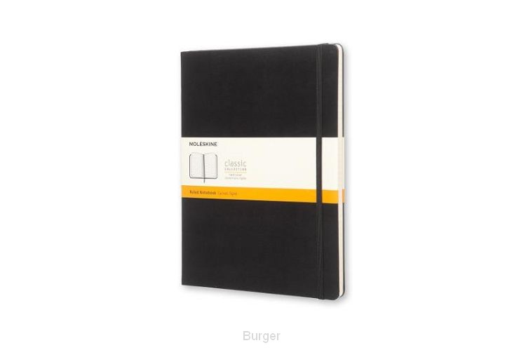 Moleskine Extra Large Ruled Notebook Hard